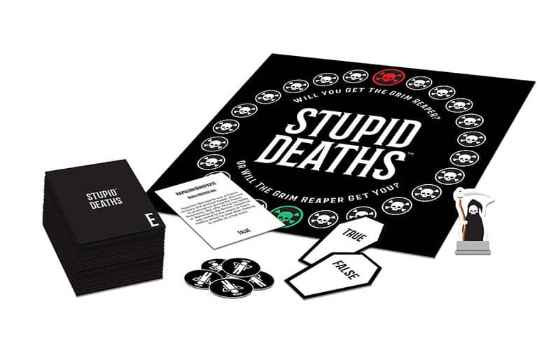 Stupid Deaths - Best Family Board Games for Game Night