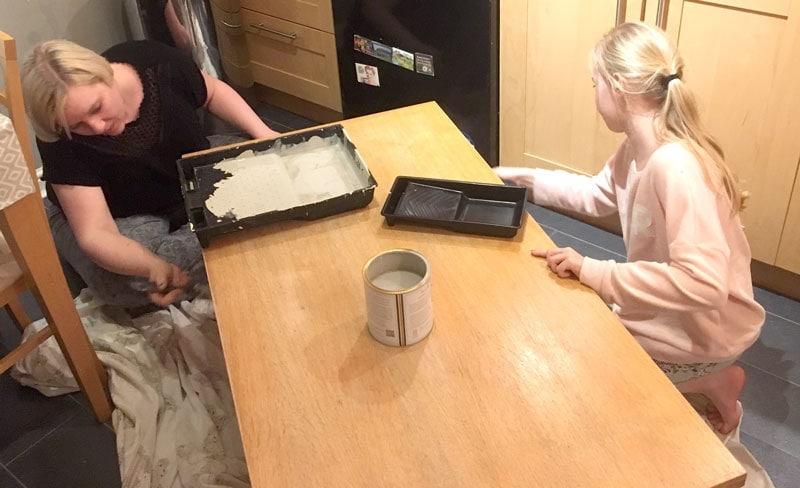 Annie Sloan Chalk paint on Furniture