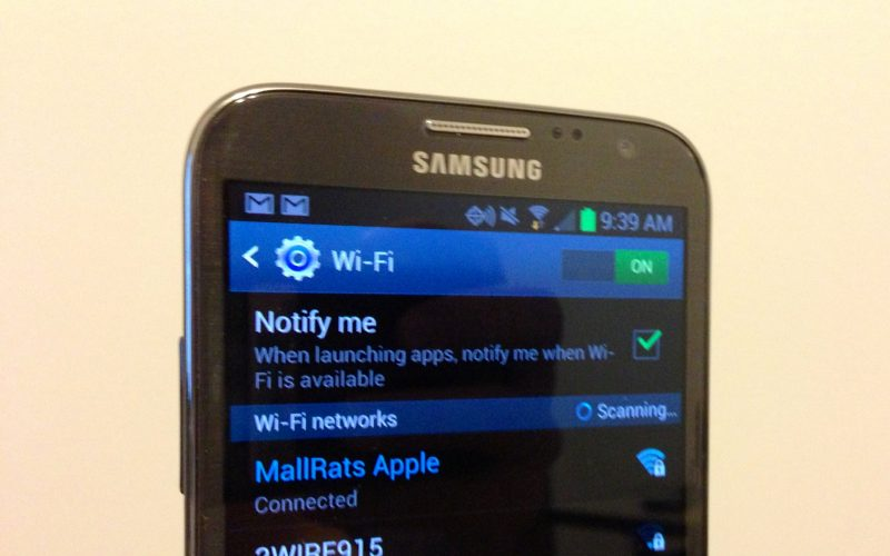 Wi-Fi Won't Turn on (Android /Samsung) - How To Fix It 2