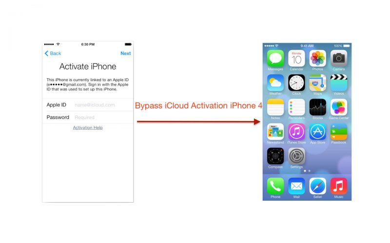 How to Bypass iCloud Activation iPhone 4 iOS 7.1.2 [Mac] 1