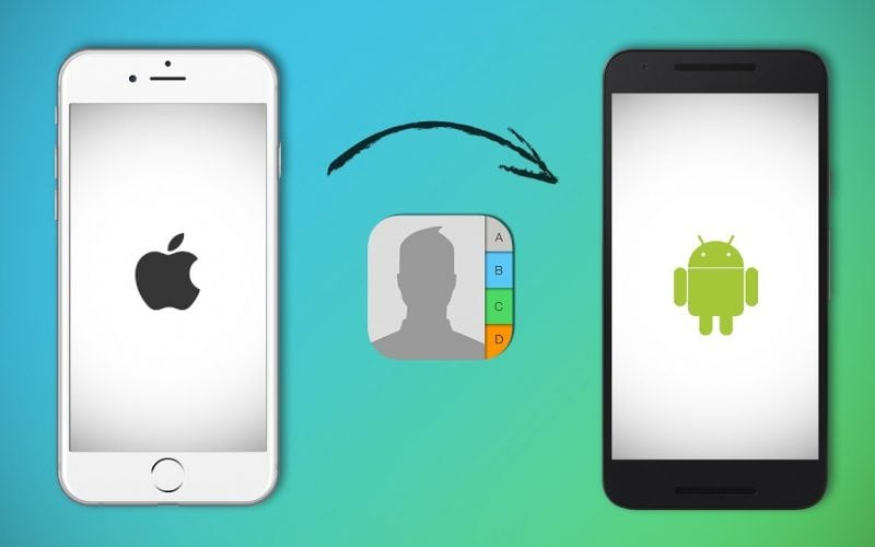 How To Transfer Contacts From iPhone To Android 2