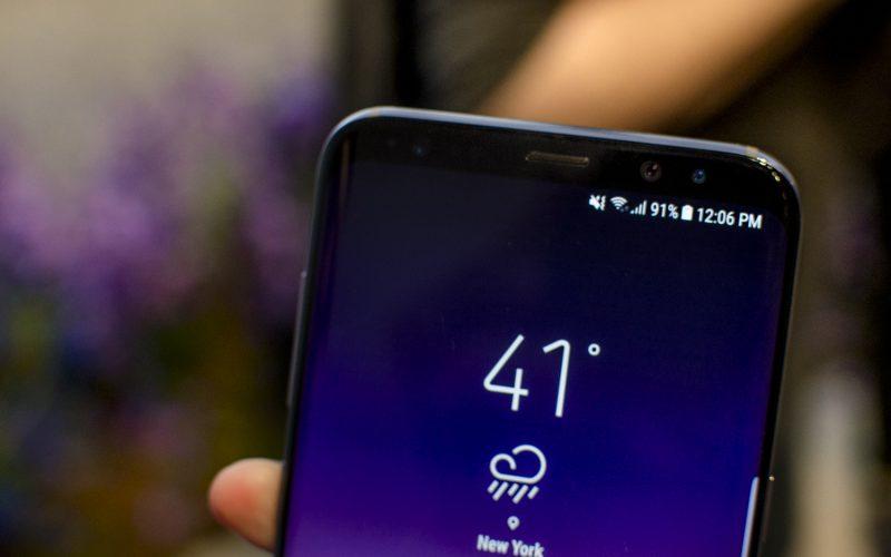 how to restart a frozen Samsung Galaxy S8