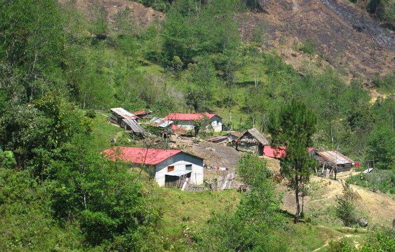 Laj Chimel, aldea de Rigoberta Menchú