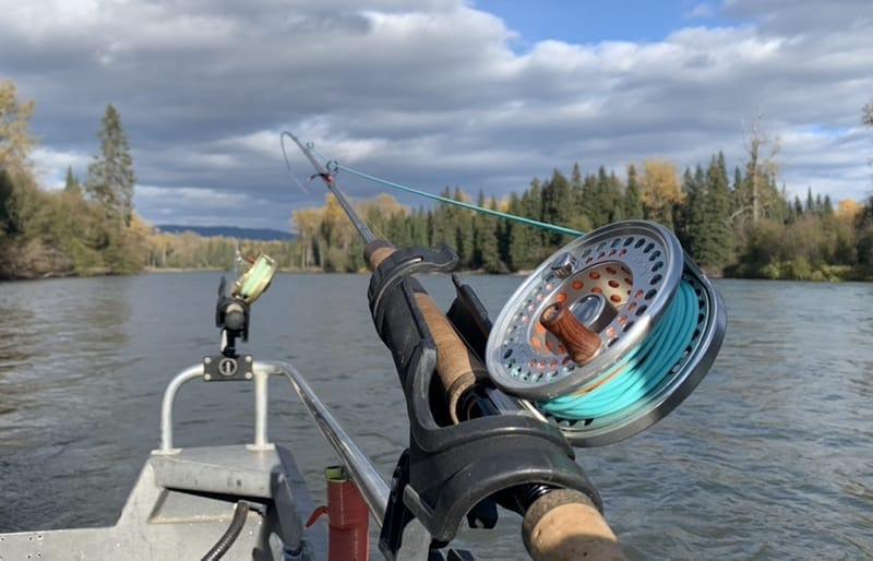 Steelhead fishing reel and gear