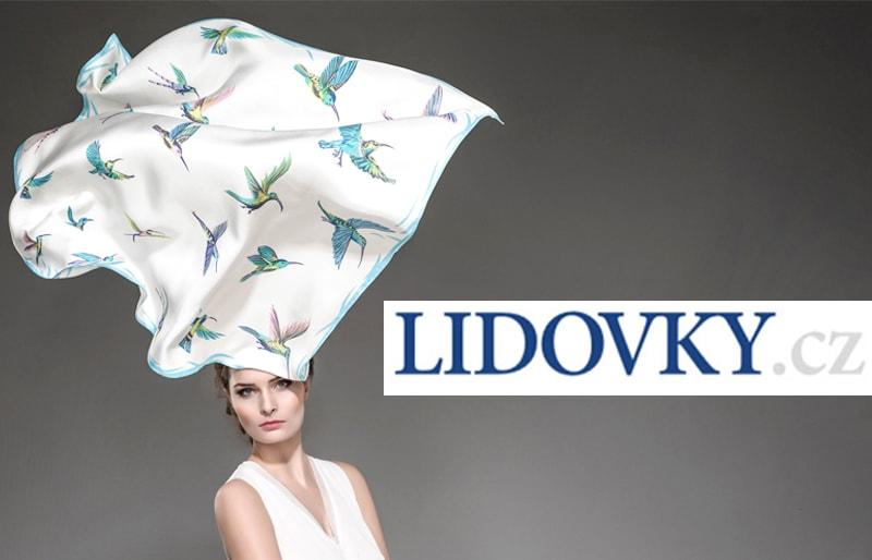 Hedvábí se nosí jako šperk, říká česká Hermès