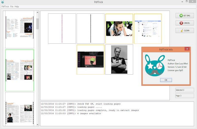 De interface van PDFtrick is overzichtelijk.