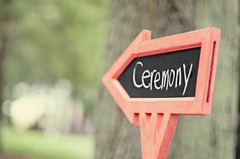 How to personalise your wedding ceremony