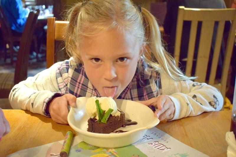 Childrens Chocolate Brownie