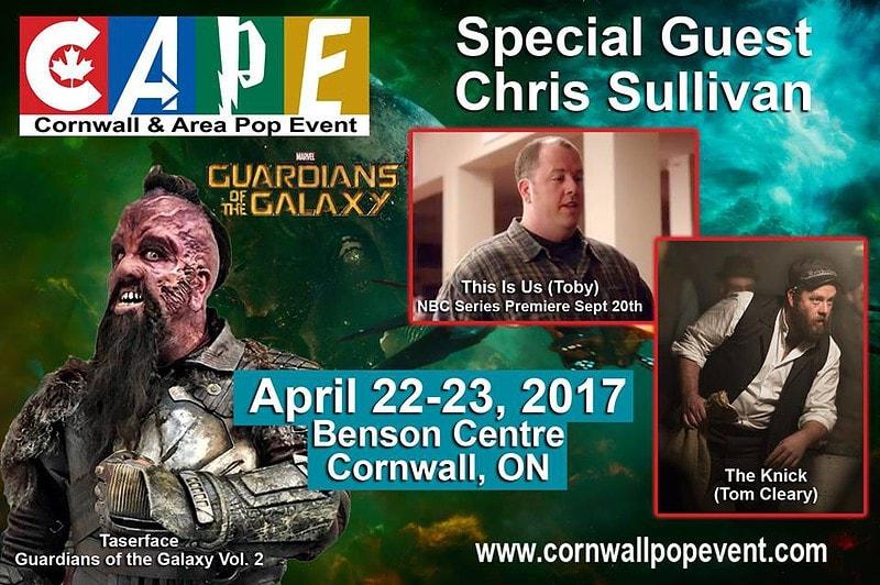 Actor Chris Sullivan CAPE 2017