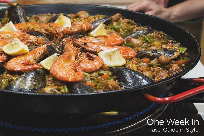 Taste an authentic Paella