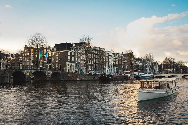 Boot huren grachten Amsterdam - Rederij Prinsengracht