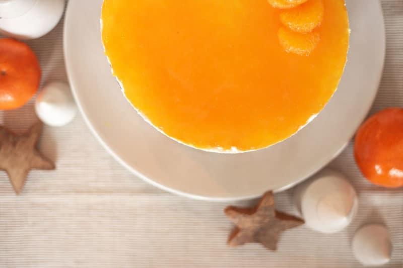 Mandarinenfüllung und Topping