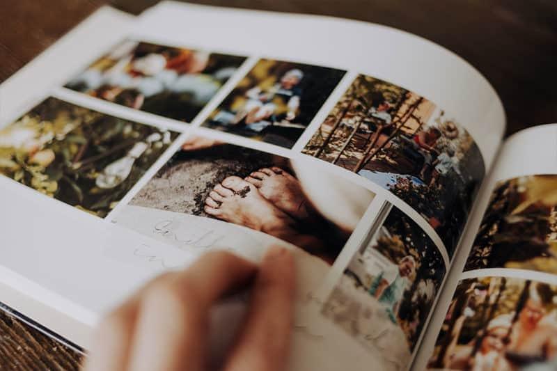 Fotobuch für das letzte Jahr gestalten