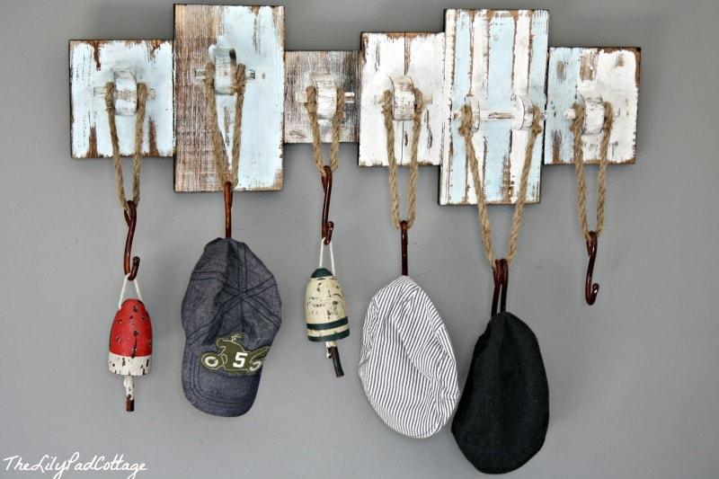 Nautical Hat Rack - thelilypadcottage