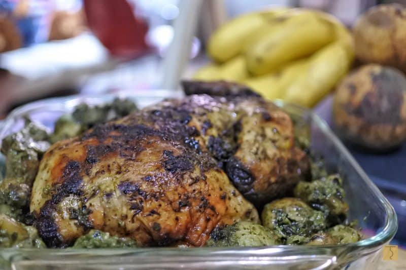 Purple Palayok - Whole Herb Roasted Chicken