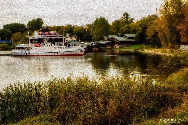Kotorosl river, Yaroslavl in autumn 2016