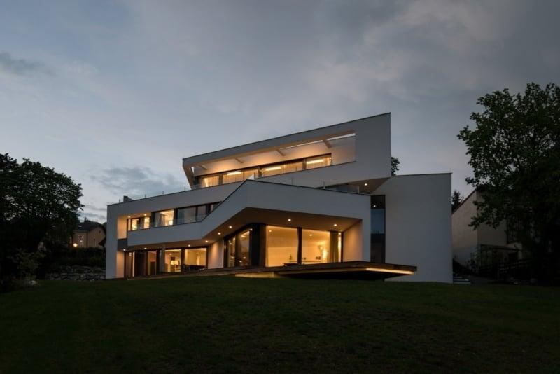 Architektenhaus Wien am Hang
