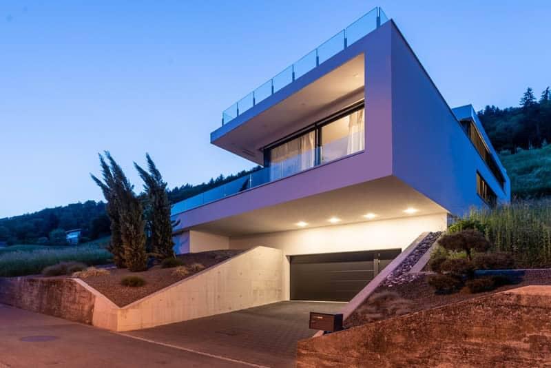 Modernes Architektenhaus bauen