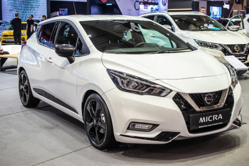 buying a used 2019 nissan micra in canada