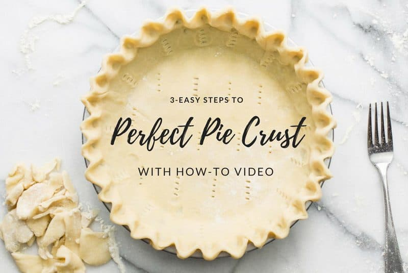 An unbaked single pie crust