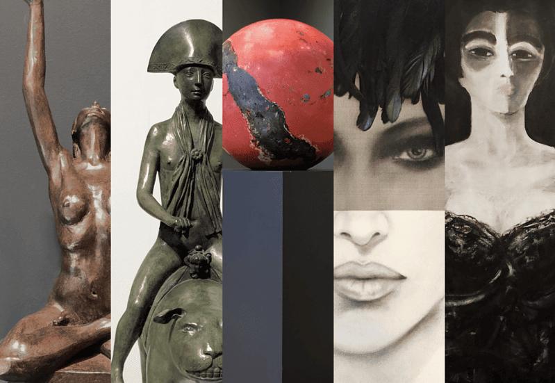 """Collective Exhibition """"Vol de Nuit"""" 7"""