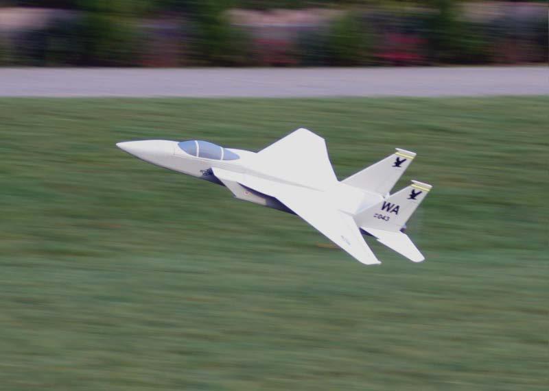 Planta do aeromodelo F15 em depron