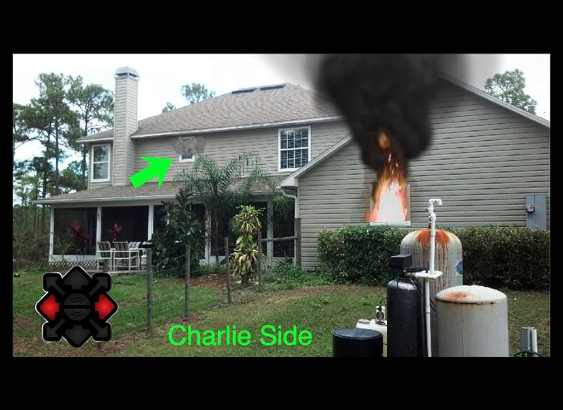 Single Family Residence Fire Simulation