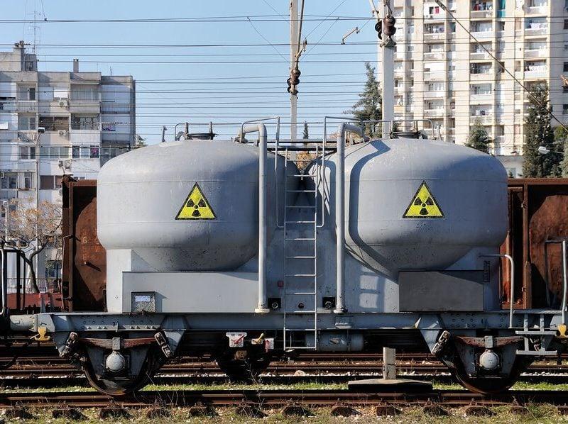 Dangerous cargo on railroad