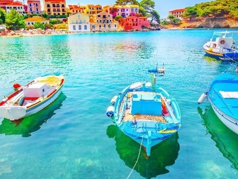 Islas Jónicas en velero