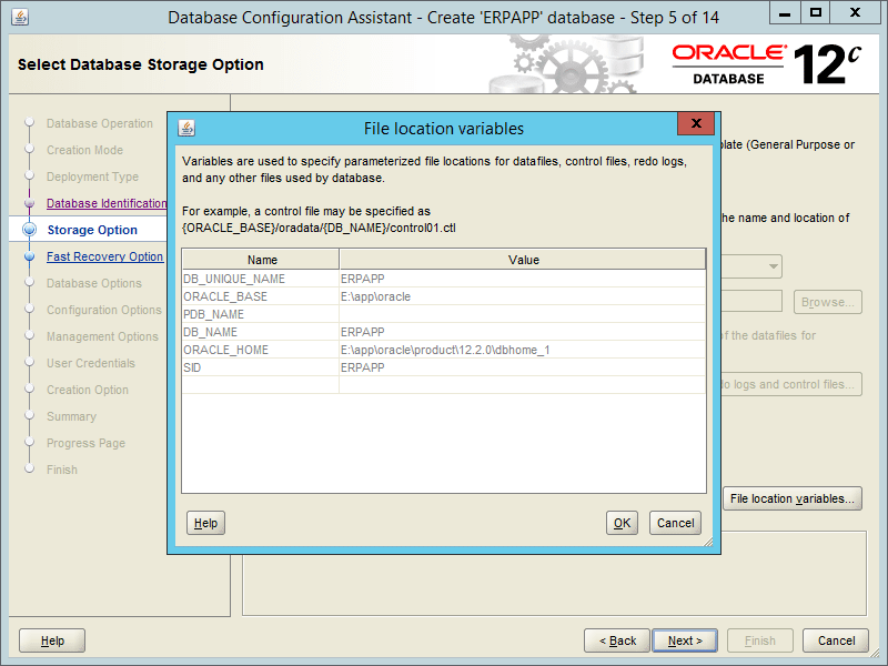 Oracle DBCA 12.2 - Step 05-1