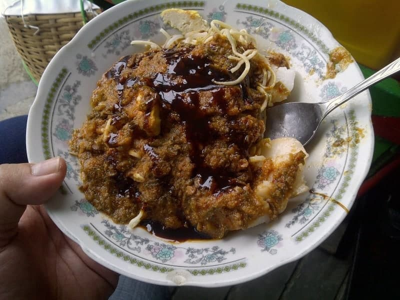 wisata kuliner Toge Goreng Mang Gebro