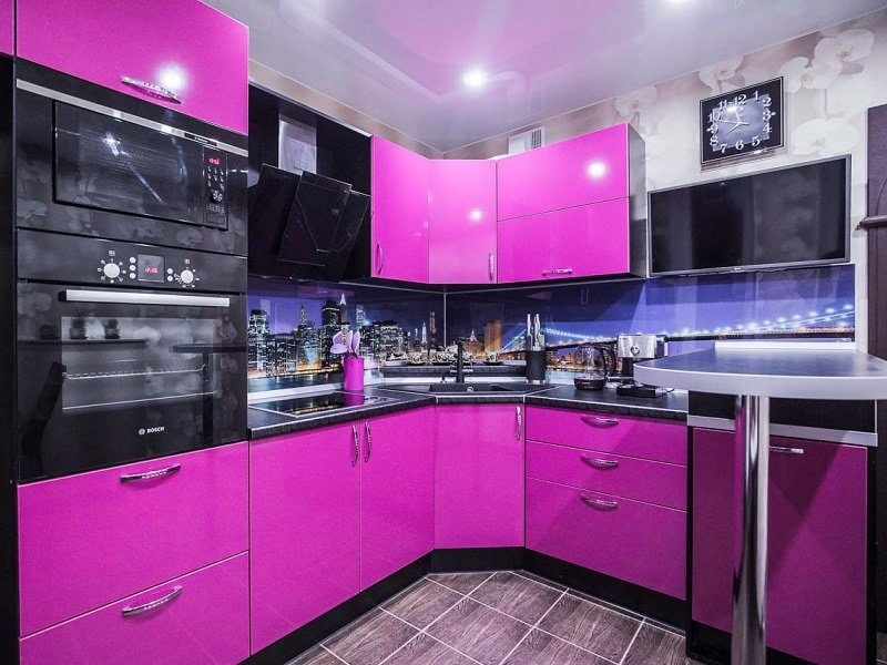 кухни орхидея фиолетовая