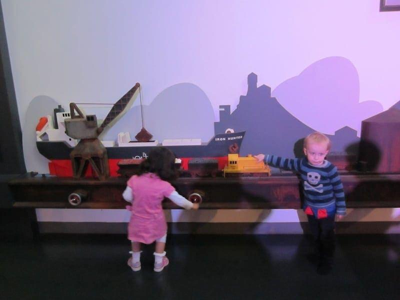 Newcastle Museum BHP Area