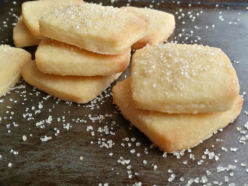 3 Ingredient Butter Cookies The Gardening Foodie