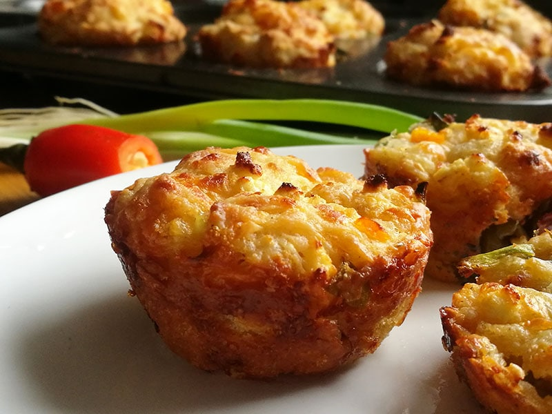 Savoury Cheese Muffins