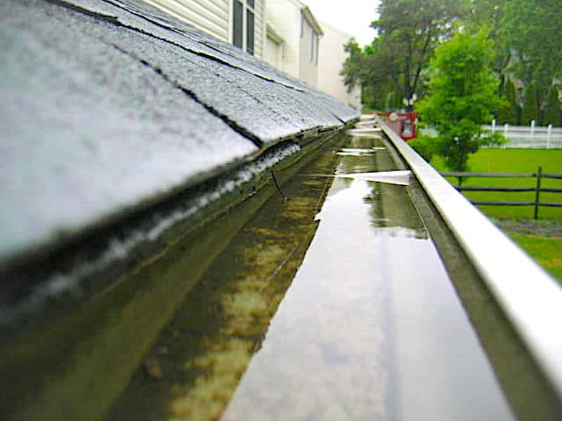gutter problems found during Home Inspections
