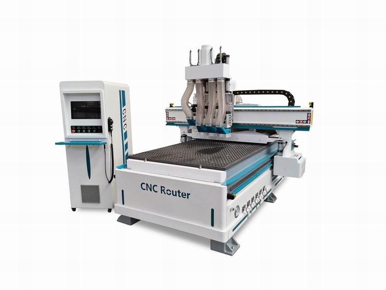 1325-4 Best Economical Pneumatic ATC CNC Router with 3 Axis