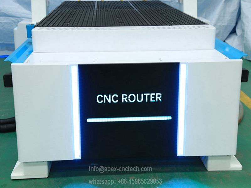 new design vacuum table and frame with LED light