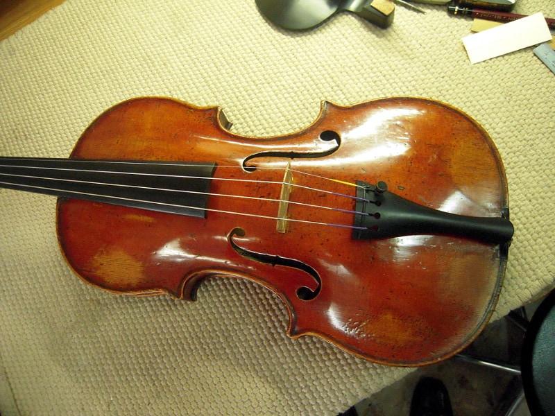がダニー二、バイオリンボディ