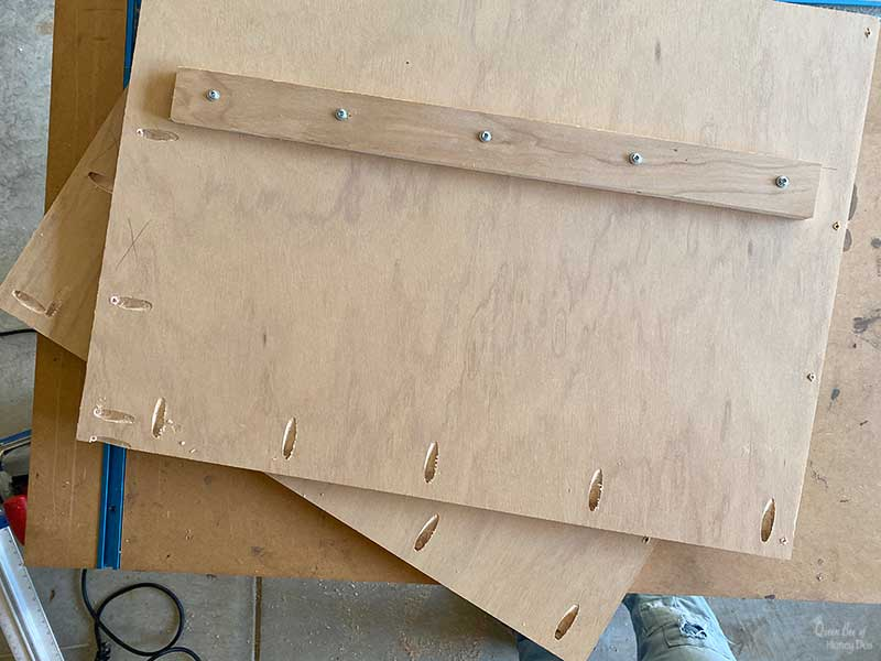 shipping crate side panels