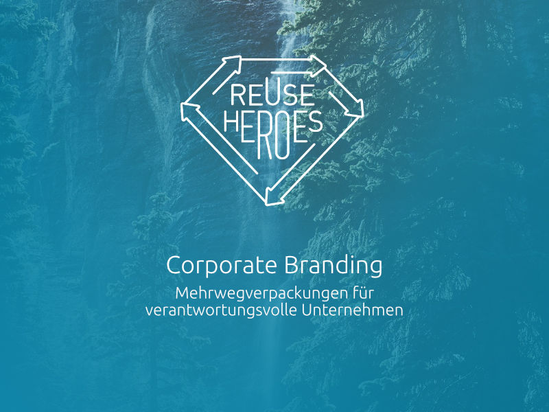 ReUseHeroes Corporate Branding Sales Deck