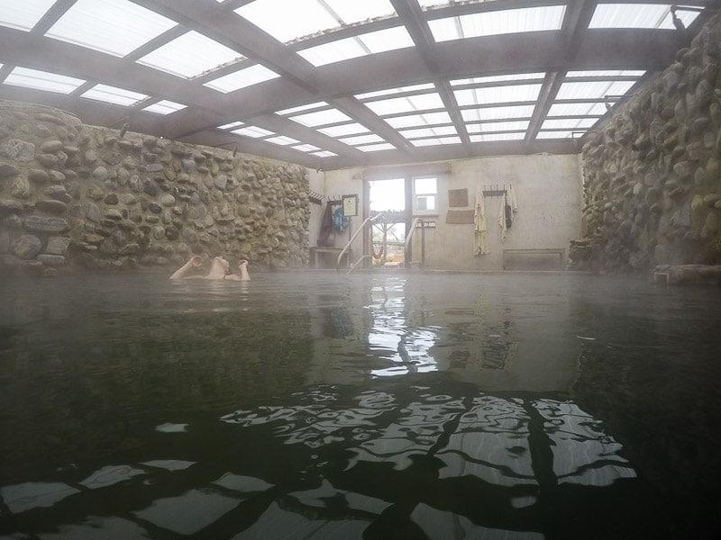Inside the Soda Pool room
