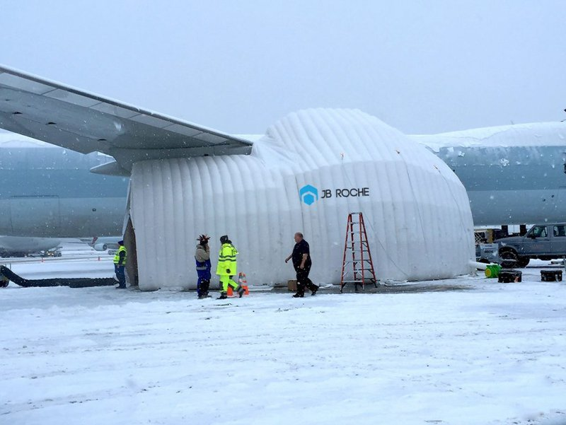 aircraft maintenance in cold weather