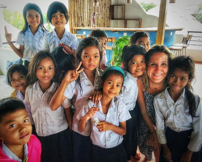 kindern in kambodscha helfen