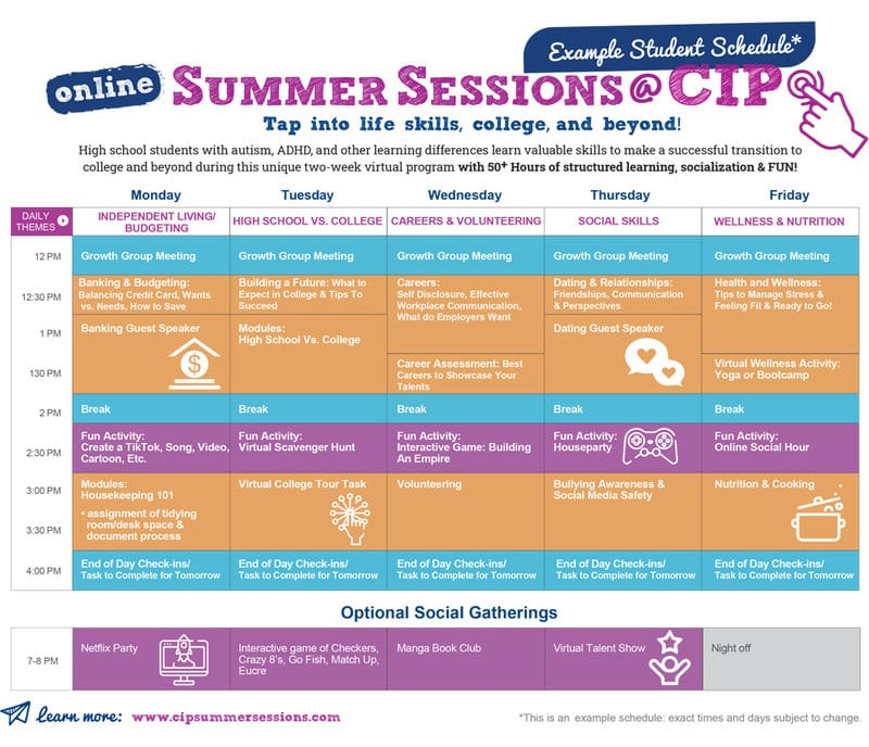 autism transition program | CIP Summer Sessions