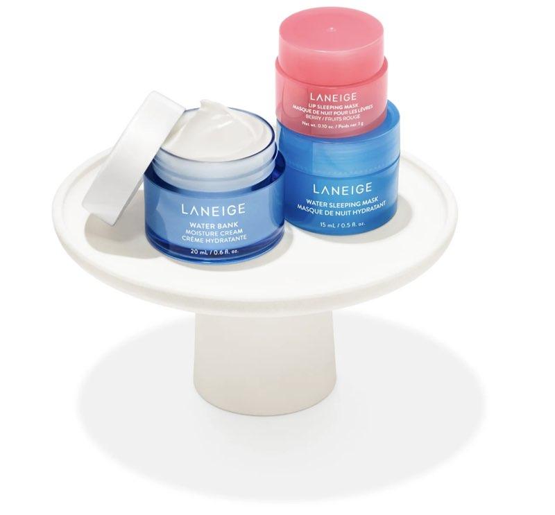 2021 Sephora Birthday Gifts - Laneige Sleeping Masks and Moisture Cream