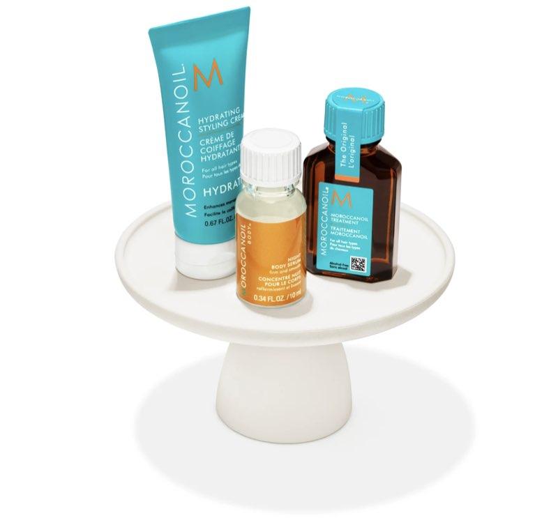 2021 Sephora Birthday Gifts - Moroccanoil Styling Cream, Treatment, Night Body Cream