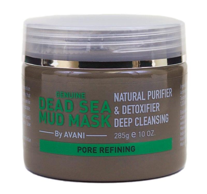 Dead sea mud mask – pore refining