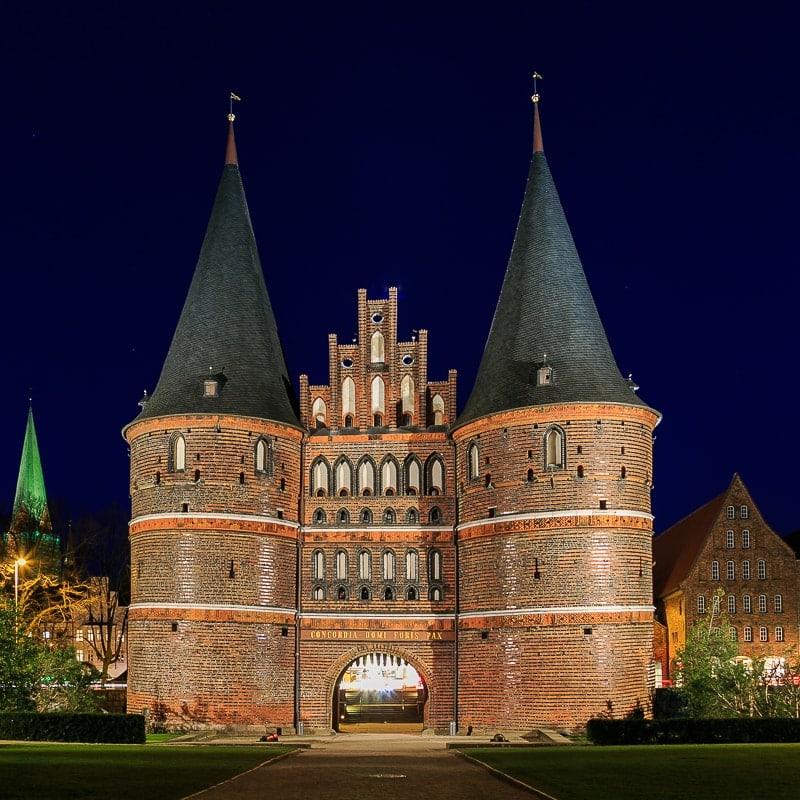 Lübeck, Hostentor, Hosteintor
