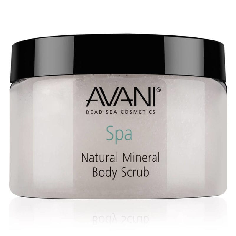 Natural mineral body scrub